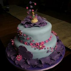 Cakes by Jyl: Tinkerbell Cake