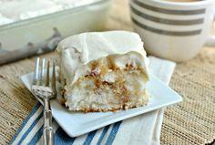 Apple Pie Poke Cake