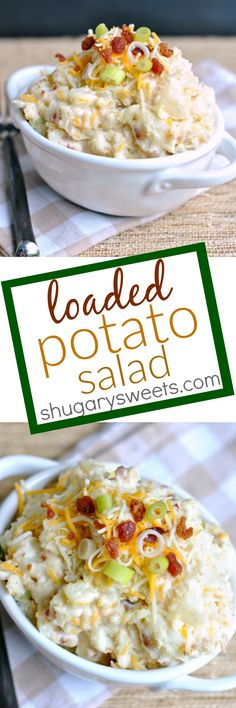 Loaded Potato Salad: