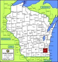 Waukesha County, Wisconsin.