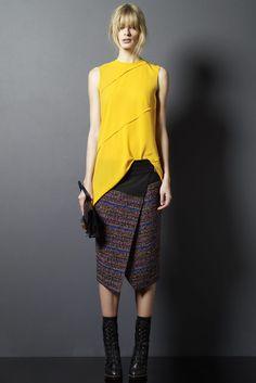 Proenza-pre-fall wrap skirt