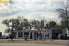 Phillips 66 Gas Station. ADRIAN, TX