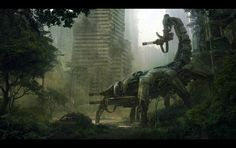 wasteland, concept art, scifi, scorpion, conceptart, science fiction, robot, video games, andre wallin
