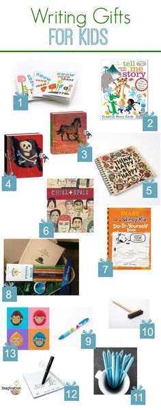 get your kids writing with these fun writing tools