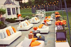 I love this party and color scheme!