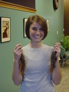 GABBY-Locks of Love Donation