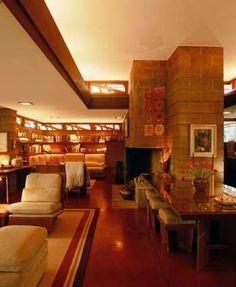 Frank Lloyd Wright......I love his designs