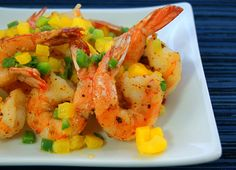 Salt and Pepper Shrimp - Crispy and spicy, these make a great appetizer or main dish