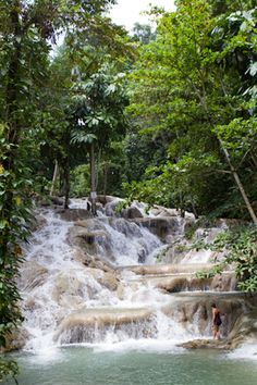 been here and hiked the Dunns River Falls, Ocho Rios