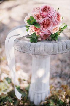 garden rose bouquet diy