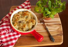 It's Fall, time for baked pasta dished. Baked Pasta With Sausage, Mushrooms and Mascarpone
