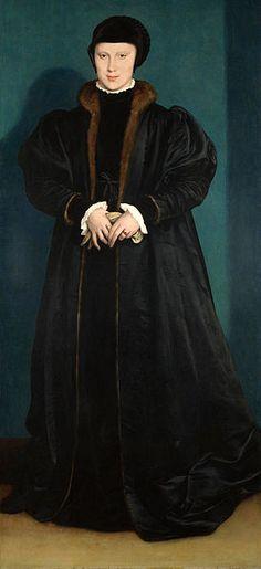 Christina of Denmark  Hans Holbein