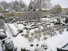 Barnsley House, UK - Potager in Winter
