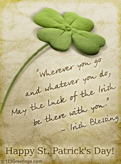 Irish Blessing-for you