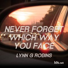 LDS General Conference Quote Lynn G. Robins.
