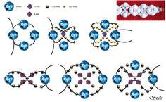 bead pattern, abalorio, bead bracelet, craft tutori, jewelri tutori