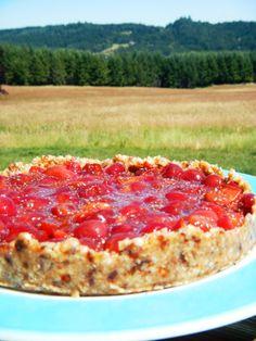 Raw Vegan Cherry Pie