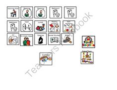 Personal Visual Schedule from Making Learning Fun  on TeachersNotebook.com -  (1 page)  - self visual schedule with board maker images.
