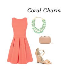 Coral is all the rage for spring and is the perfect match for an outdoor rehearsal dinner (and a tan, of course)!   George Street Photo & Video