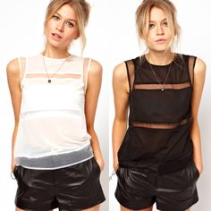 new fashion spring summer solid color chiffon glass yarn patchwork female t shirt tecido de seda blusa chifon femininas camis