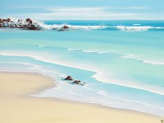 """Australian artist Colin Perini is known for his seascapes, """"My Hearts Wishes"""" is one of his beautiful works of art available at Artist Become. #art #ArtistBecome"""