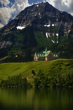 houses, waterton, canada, lakes, national parks, earth, places, photography, hotels