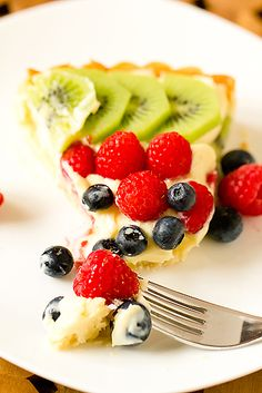 One of my favorite summer treats by far!! Fresh Fruit Tart with Pastry ...