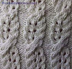 Challah knitting stitches