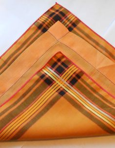 2 Matching Cotton Vintage Handkerchiefs by VintagebyVeronicaS, $5.00
