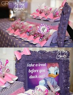 GreyGrey Designs: Emma Kate's Daisy Duck Party