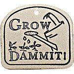 Grow Garden Plaque