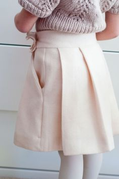 Sewing Pattern: Couture Skirt for Girls (PDF INSTANT DOWNLOAD)