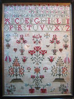 cross stitch samplers antique | Antique+cross+stitch+samplers
