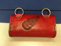 Red Wings Wheel small bag back (hand tooled)