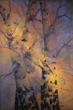 Universe Within    by Lynette Blake   Oil36 x 24