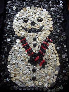 Button snowman