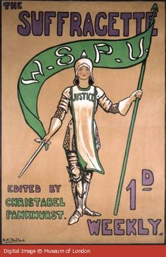 The Suffragette magazine edited by Christabel Pankhurst. Plenty more at the People's History Museum in Manchester!