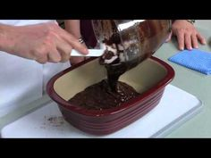 Microwave Rocky Road Brownie Dessert video.  WoW!  YuM!  www.pamperedchef.biz/cookingwithcora