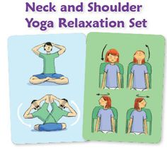 Neck and Shoulder stretches to help you relax...
