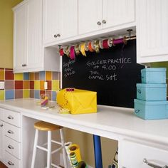 Laundry Room Craft Space