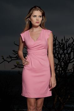 Vestido Rosa Wang The Color Wear - Soft Pink Dress