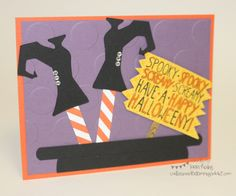 Witch Card :: Confessions of a Stamping Addict Lorri Heiling Witch Card Mingle All the Way