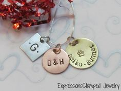 Family Mixed Metals Necklace