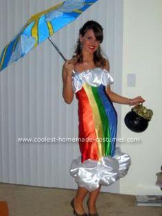 halloween costume ideas, halloween costumes, rainbows, rainbow costume, holiday idea