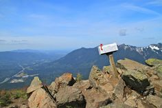 Mailbox Peak, North Bend, WA.