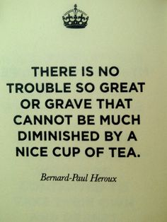 And a fair cuppa makes it even nicer. :)