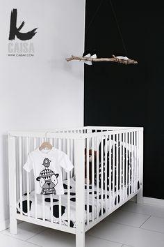 black and white nursery...