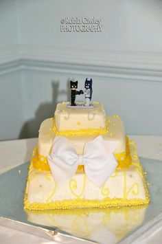 Our cute cake!