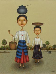 Dominic Rubio. Philippine Art. Art by Filipino Artists
