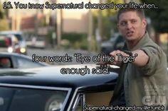 Supernatural dean i loves u